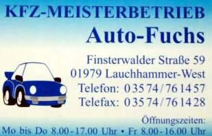 Autohaus Dieter Fuchs Lauchhammer